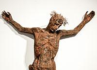 Vorschau Bildimpuls: Kruzifix in der Kapelle im Edith-Stein-Haus Heidelberg